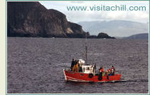 Fishing boat, Achill Island, Ireland