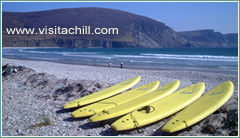Surfboards at Keel, Achill Island